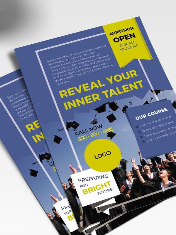 unior School Promotion Flyer Template